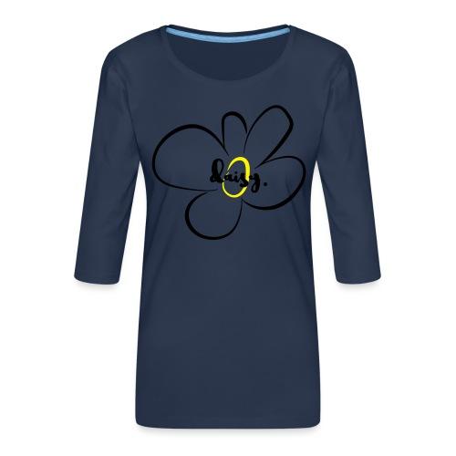 Gänseblümchen - Frauen Premium 3/4-Arm Shirt