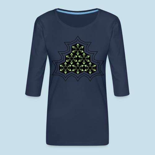 Stern - Frauen Premium 3/4-Arm Shirt