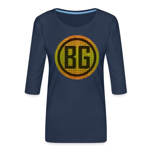 BeAsTz GAMING HOODIE - Women's Premium 3/4-Sleeve T-Shirt