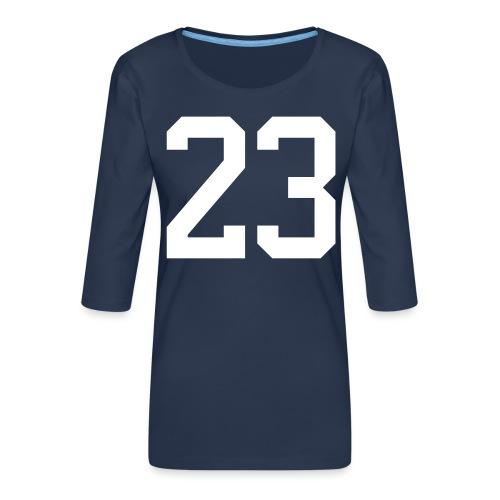 23 VISUR Stefan - Frauen Premium 3/4-Arm Shirt