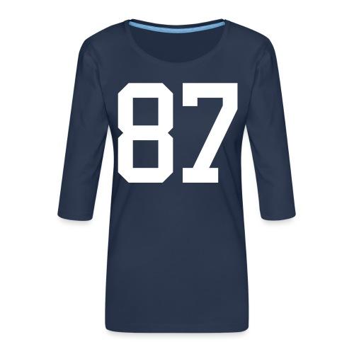 87 LEBIS Jan - Frauen Premium 3/4-Arm Shirt