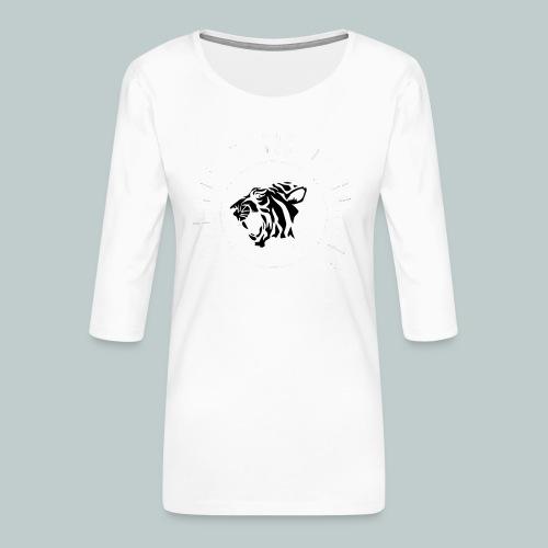 The Sherikan Music Attraction logo - Premium-T-shirt med 3/4-ärm dam