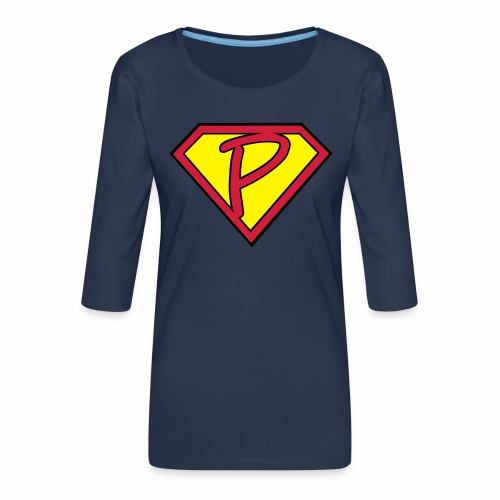 superp 2 - Frauen Premium 3/4-Arm Shirt