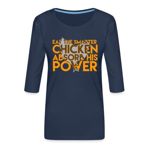 OITNB - Chicken - T-shirt Premium manches 3/4 Femme