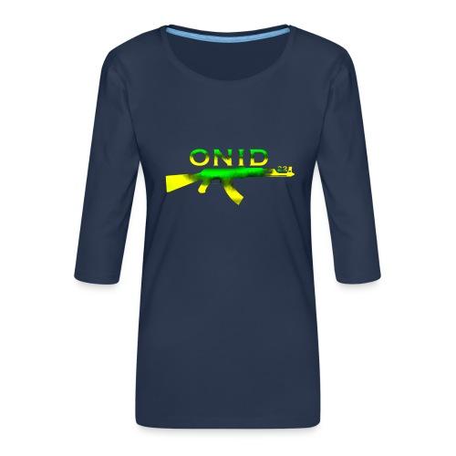 ONID-22 - Maglietta da donna premium con manica a 3/4