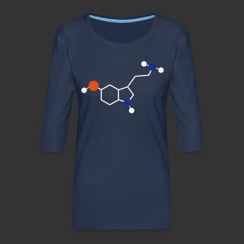 Serotonin - T-shirt Premium manches 3/4 Femme