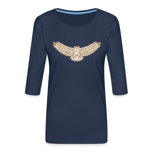 uhu - Frauen Premium 3/4-Arm Shirt