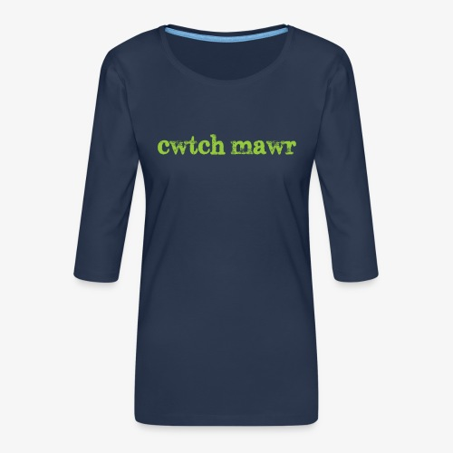 cwtchmawr1 - Women's Premium 3/4-Sleeve T-Shirt