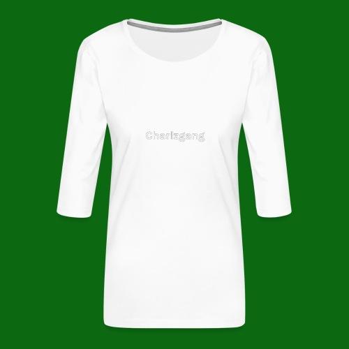 Charlzgang - Women's Premium 3/4-Sleeve T-Shirt