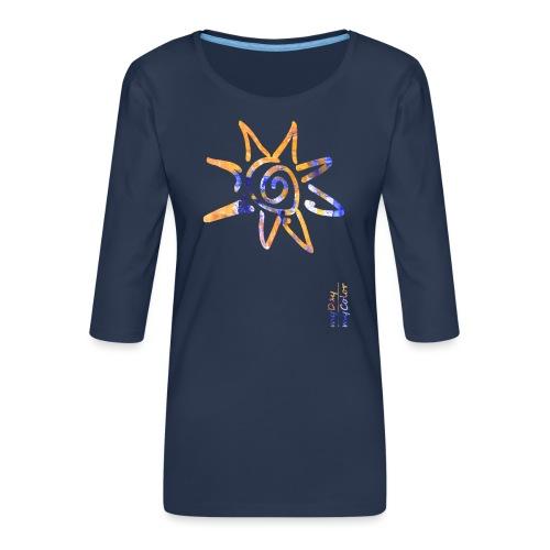 myDay SommerSonne - Frauen Premium 3/4-Arm Shirt