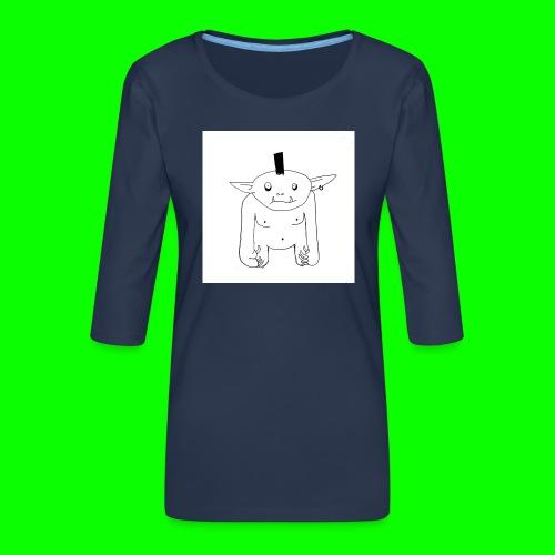 Grol - Women's Premium 3/4-Sleeve T-Shirt