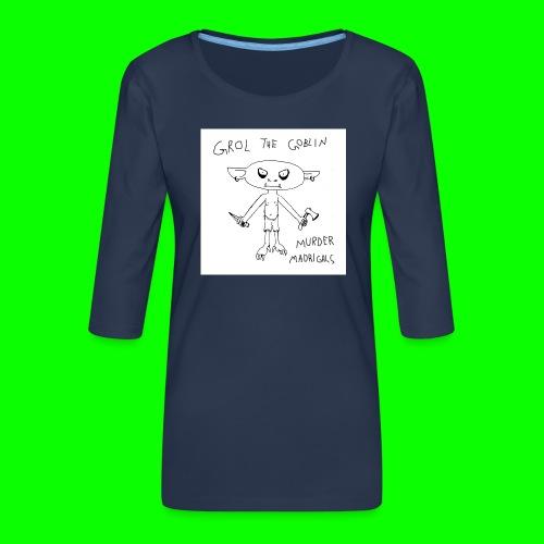 Murder Madrigals - Women's Premium 3/4-Sleeve T-Shirt