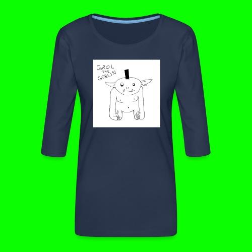 Grol S / T - Women's Premium 3/4-Sleeve T-Shirt