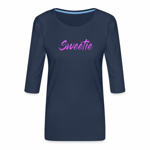 Sweetie - Women's Premium 3/4-Sleeve T-Shirt