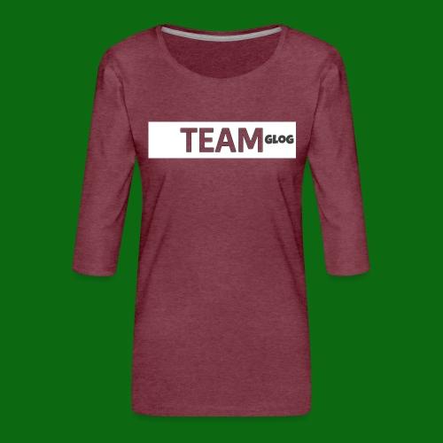 Team Glog - Women's Premium 3/4-Sleeve T-Shirt