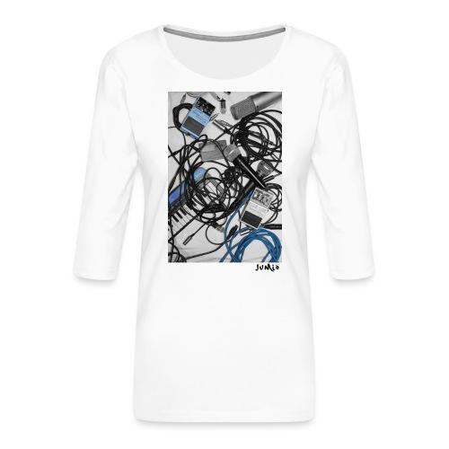 Jumio Print - Naisten premium 3/4-hihainen paita