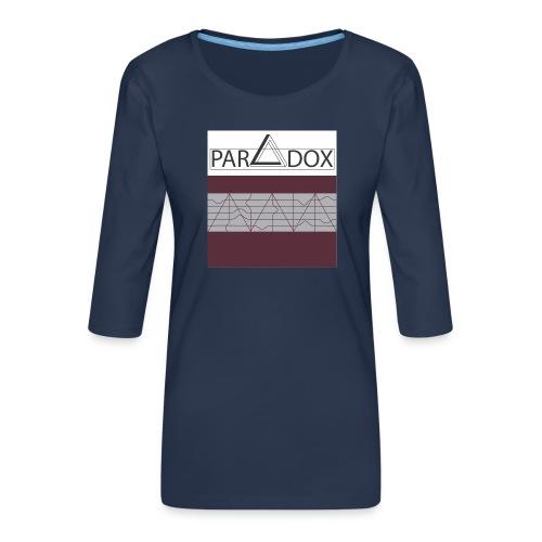 Iphone case jpg - Vrouwen premium shirt 3/4-mouw