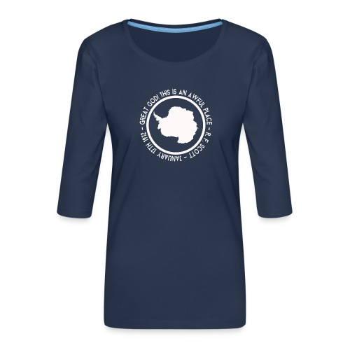 Great God! - Women's Premium 3/4-Sleeve T-Shirt