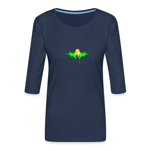 cloudberry - Women's Premium 3/4-Sleeve T-Shirt