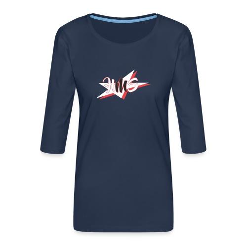 3 - Women's Premium 3/4-Sleeve T-Shirt