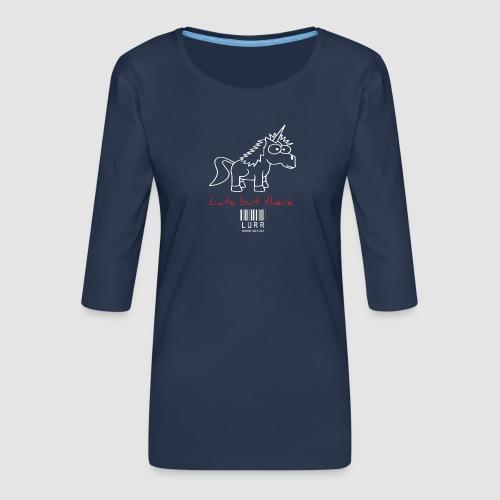lurr unicorn - Women's Premium 3/4-Sleeve T-Shirt