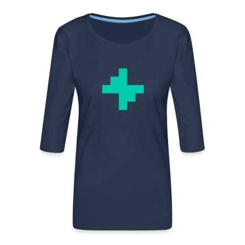Bluspark Bolt - Women's Premium 3/4-Sleeve T-Shirt