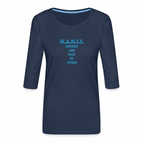 MAMIL - Women's Premium 3/4-Sleeve T-Shirt