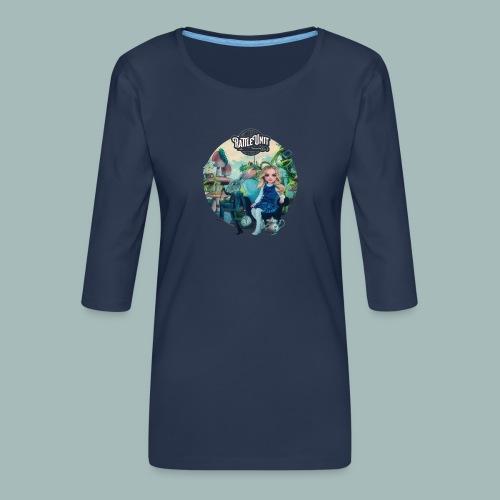 Letting Go Merch - Vrouwen premium shirt 3/4-mouw