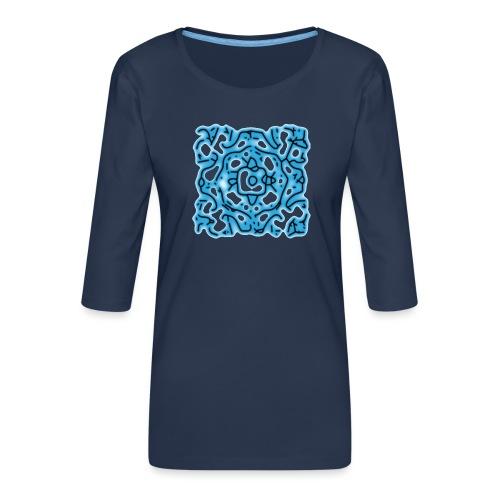 Ornament 038 - Frauen Premium 3/4-Arm Shirt