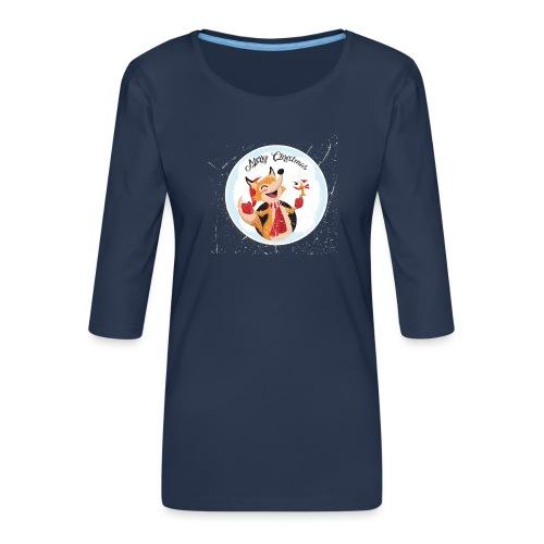 marry chrismas2 - T-shirt Premium manches 3/4 Femme