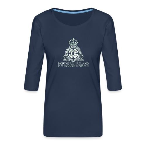 Northern Ireland - Women's Premium 3/4-Sleeve T-Shirt