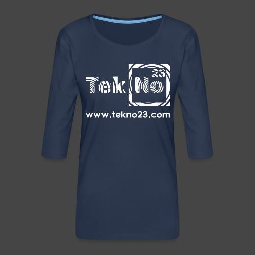 tekno 23 - T-shirt Premium manches 3/4 Femme