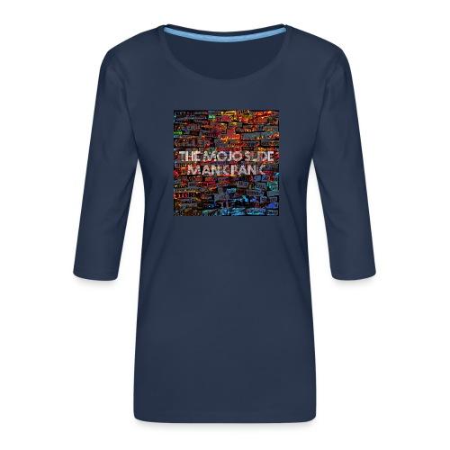 Manic Panic - Design 1 - Women's Premium 3/4-Sleeve T-Shirt