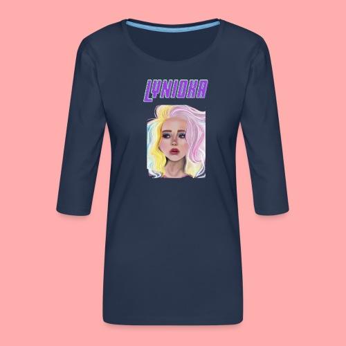 Princesse Lynioka - T-shirt Premium manches 3/4 Femme