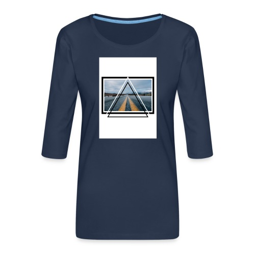 On the Road - T-shirt Premium manches 3/4 Femme