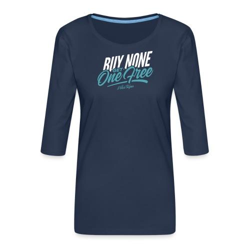 BNGOF - Women's Premium 3/4-Sleeve T-Shirt