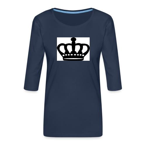 kroon - Vrouwen premium shirt 3/4-mouw