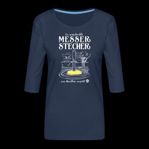 Messerstecher - Frauen Premium 3/4-Arm Shirt