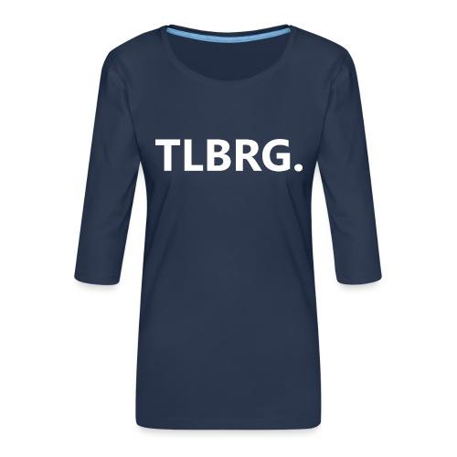 TLBRG - Vrouwen premium shirt 3/4-mouw