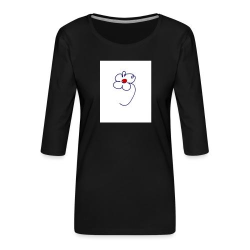 0BCAE8B9 39C6 4CAC BD96 F279AD1C4726 - Camiseta premium de manga 3/4 para mujer