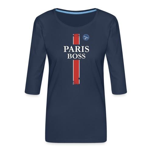 parisfinal11.png - T-shirt Premium manches 3/4 Femme