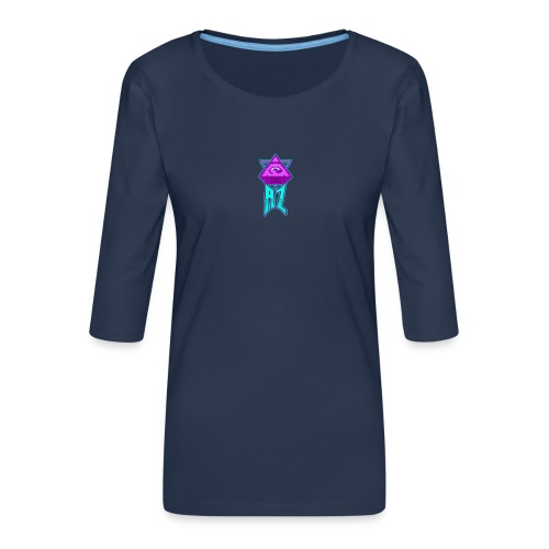 AZ ILLUMINATI - Women's Premium 3/4-Sleeve T-Shirt