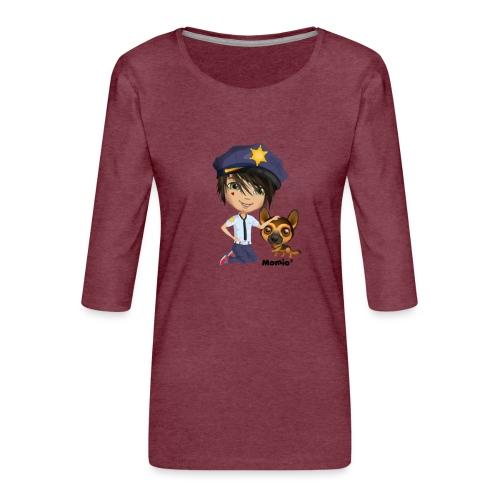 Jack und Hund - von Momio Designer Cat9999 - Frauen Premium 3/4-Arm Shirt