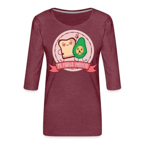 La pareja perfecta - Camiseta premium de manga 3/4 para mujer