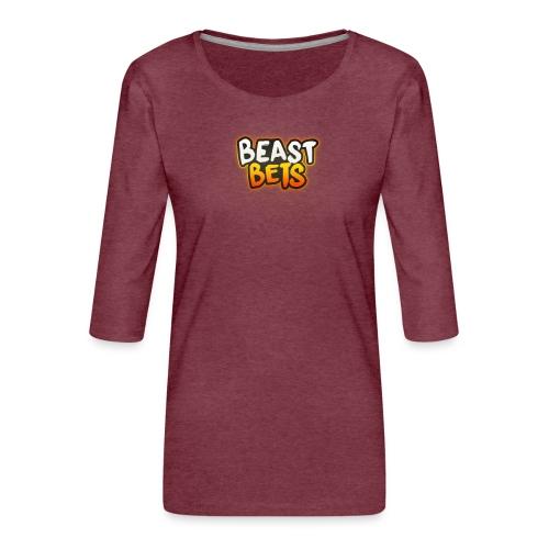 BeastBets - Dame Premium shirt med 3/4-ærmer