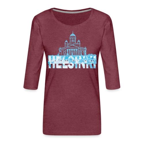 Helsinki Cathedral - Women's Premium 3/4-Sleeve T-Shirt