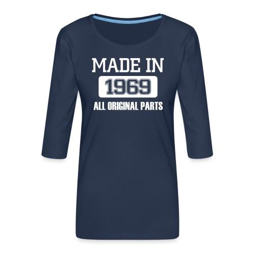 Made in 1969 - Women's Premium 3/4-Sleeve T-Shirt