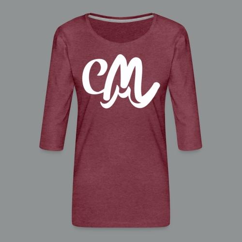 Mannen shirt (voorkant) - Vrouwen premium shirt 3/4-mouw