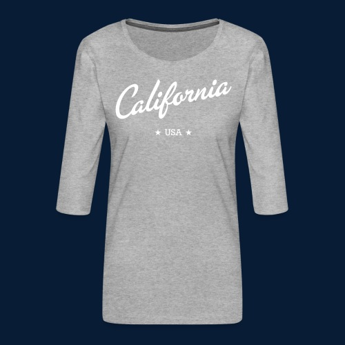 California - Frauen Premium 3/4-Arm Shirt