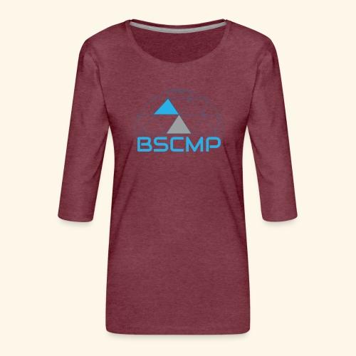 BSCMP - Vrouwen premium shirt 3/4-mouw